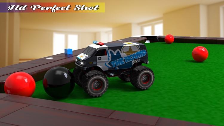 Pool Ball Games: Monster Truck