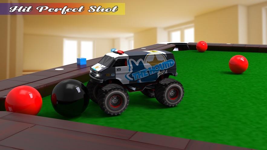 台球游戏:怪物卡车 App 截图