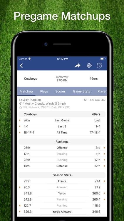 Scores App: Pro Football 2019 screenshot-6