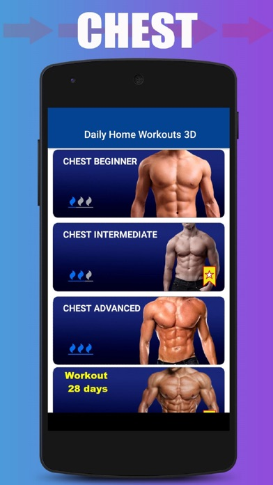 Home Workout No Equipment screenshot 6