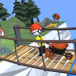 Wheelbarrow Race 3D