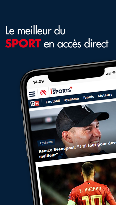DH Les Sports + screenshot two
