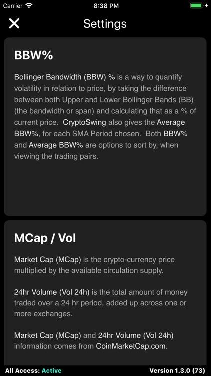 CryptoSwing screenshot-8