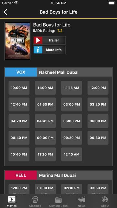 点击获取UAE Cinema Showtimes