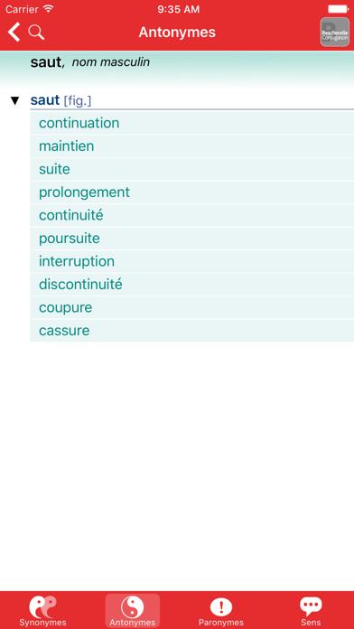 Bescherelle Synonymes