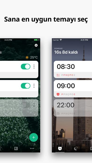 Screenshot for Çalar Saat Alarmy - Uyanmak! in Turkey App Store