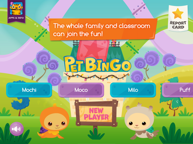 ‎Pet Bingo - by Duck Duck Moose Screenshot