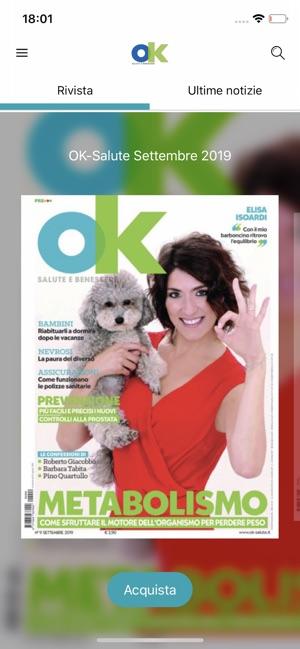 Ok Salute Digital Magazine Su App Store