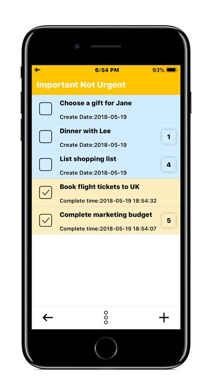 To Do Matrix - Priority Tasks screenshot-4