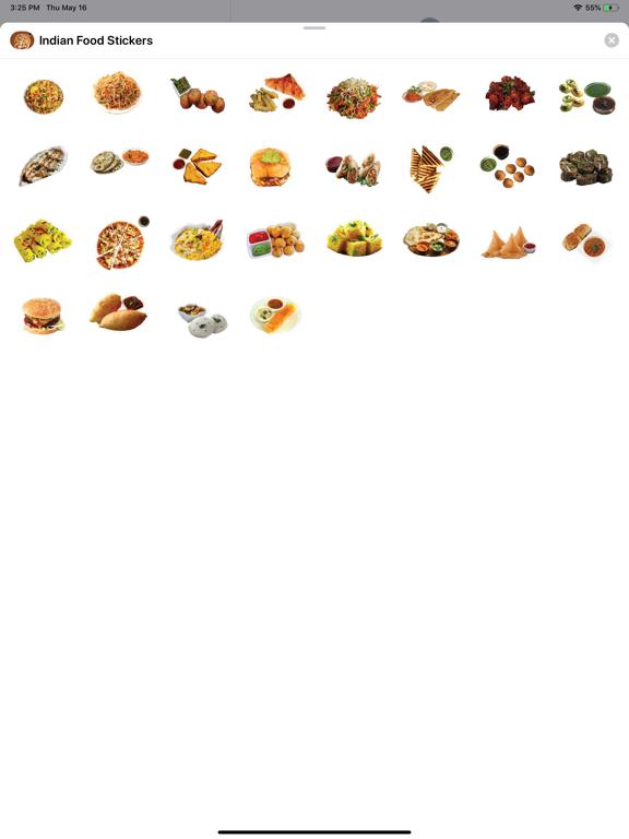 Indian Tasty Food Stickers screenshot 4