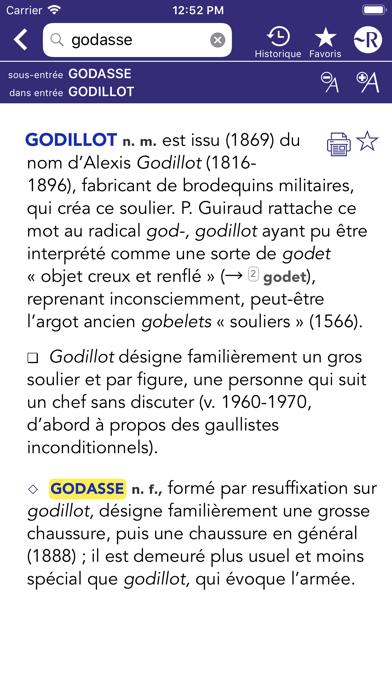 Dictionnaire Robert Historiqueのおすすめ画像9