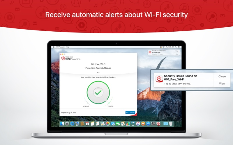 Trend Micro WiFi Protection Screenshot