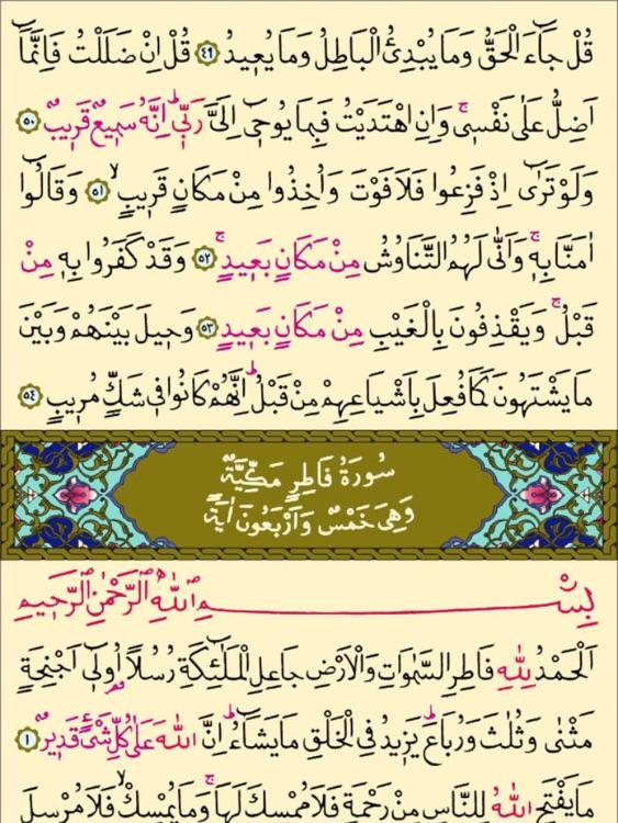 Kur'an-ı Kerim - iPad için screenshot-3