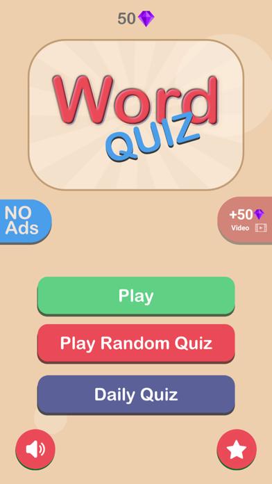 Word Quiz HD screenshot 3