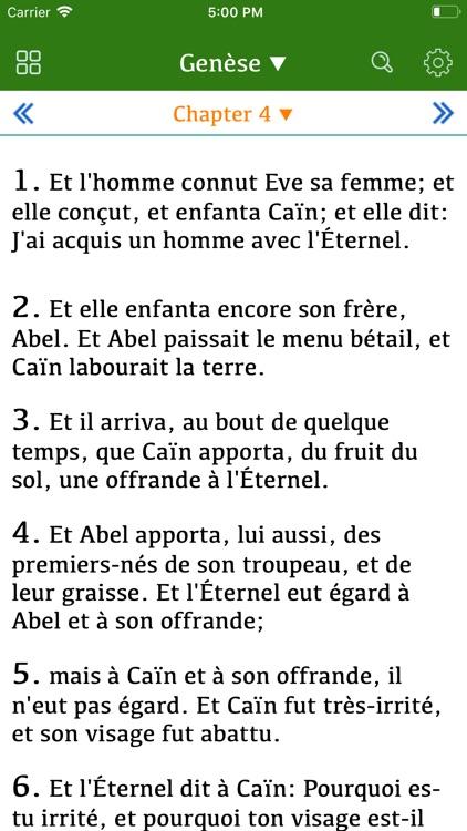 La Bible Darby Français screenshot-4