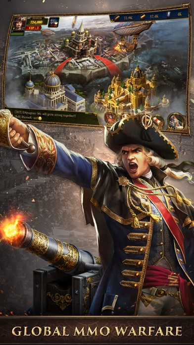 Guns of Glory: MMO Empire War app image