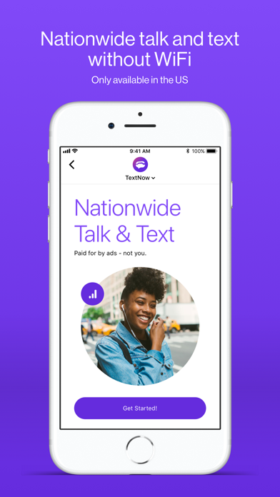 TextNow: Call + Text Unlimited Screenshot