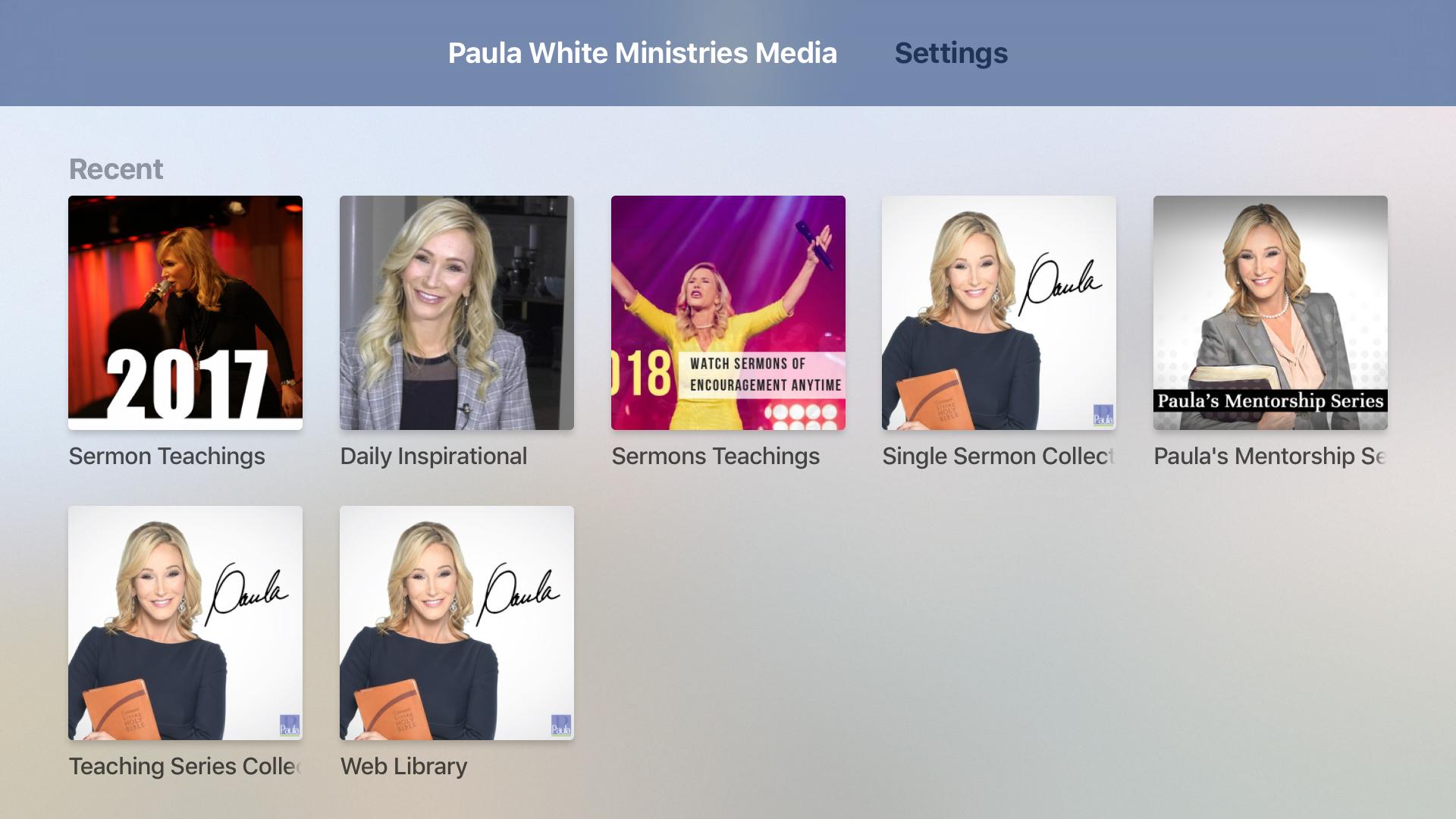 Paula White Ministries Media screenshot 7