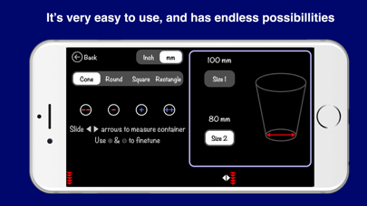 Measuring Cup & Kitchen Scale Screenshot