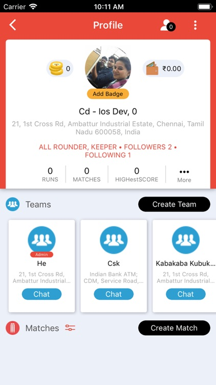 CricDost - Street Stars Finder by XCEL Solutions Corp