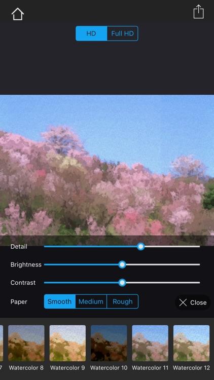 Watercolorizer-photo artist screenshot-8