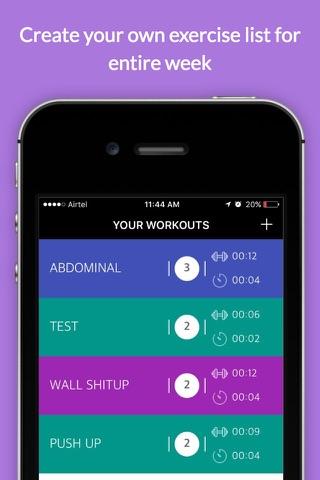 Workout Timer Stopwatch tabata - náhled