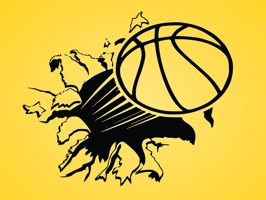 The BasketballTN is a small sticker, which are show the 50 Basketball TN sticker in cartoon