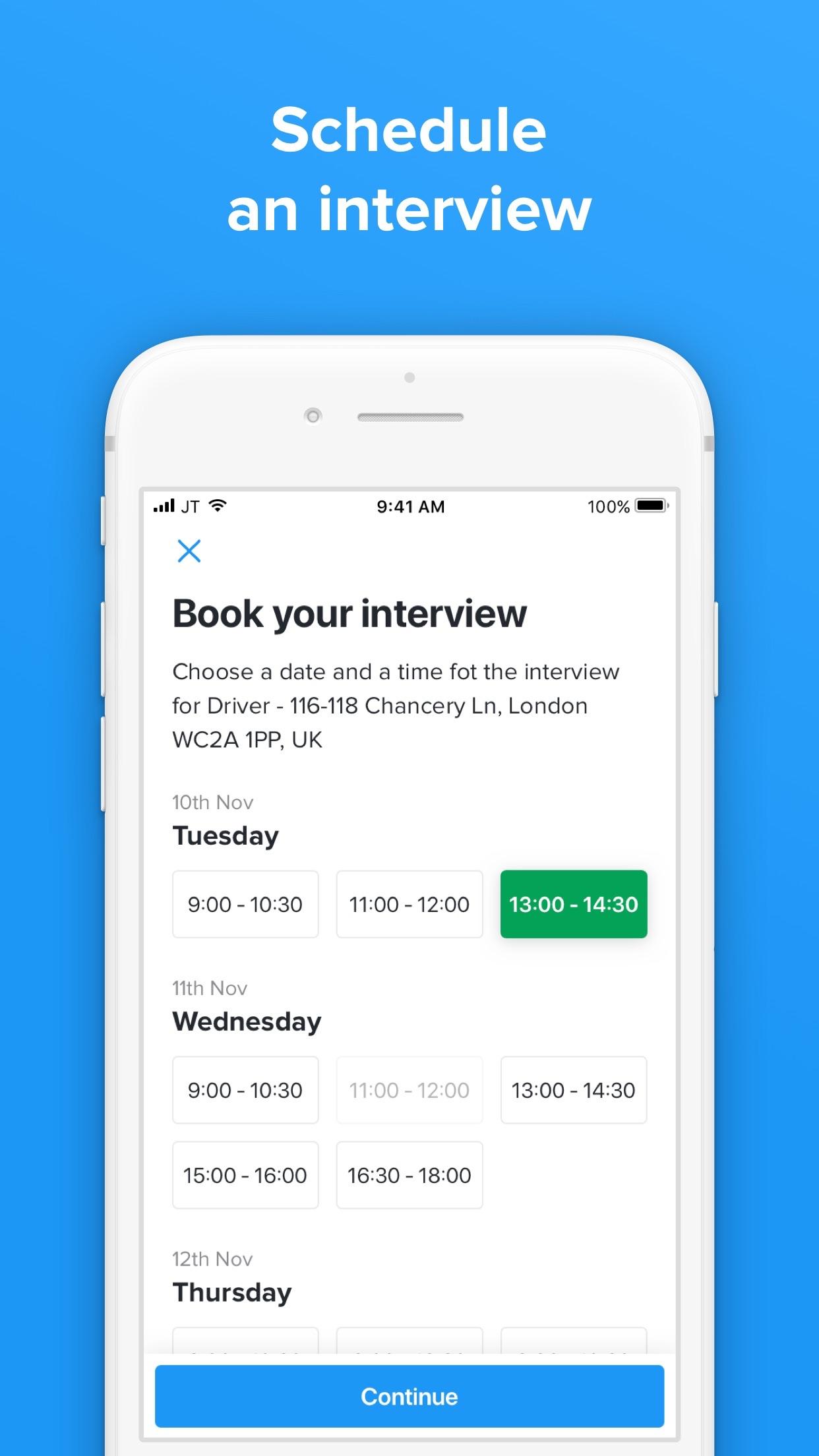 Jobandtalent - Job Search Screenshot