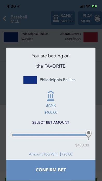 SPORTS BET: Sportsbook Betting & Vegas Odds screenshot