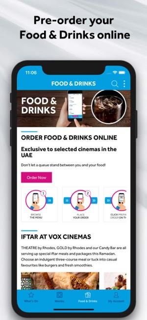VOX Cinemas App on the App Store