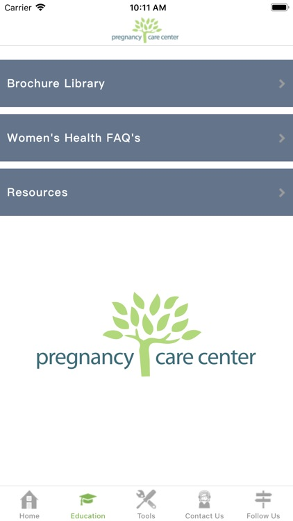 Pregnancy Care Center screenshot-3