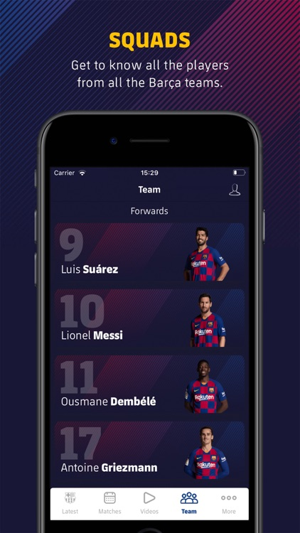FC Barcelona Official App screenshot-5