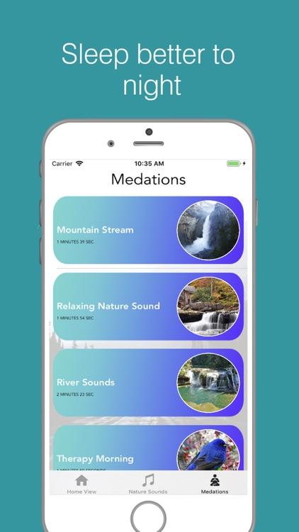 Meditation Sounds:Relax Sounds screenshot-3