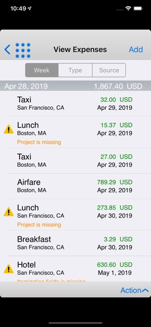 Oracle Fusion Expenses on the App Store