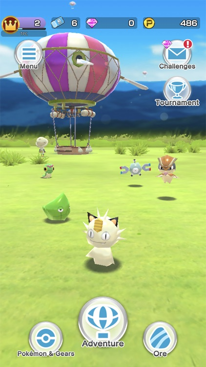 Pokémon Rumble Rush screenshot-0