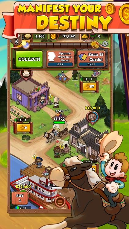 Idle Frontier: Western Tapper screenshot-0