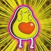 Avocado Sticker