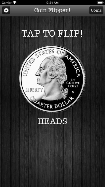 Flip a Coin App screenshot-9