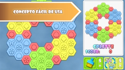 Fitz: Match 3 Puzzle GameCaptura de pantalla de4