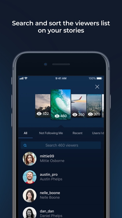 Followers+ for Instagram App screenshot-4