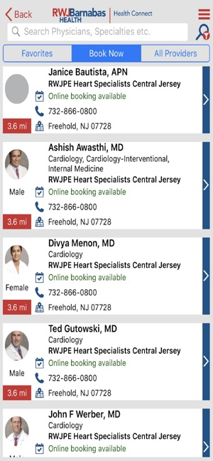 RWJBarnabas HealthConnect on the App Store