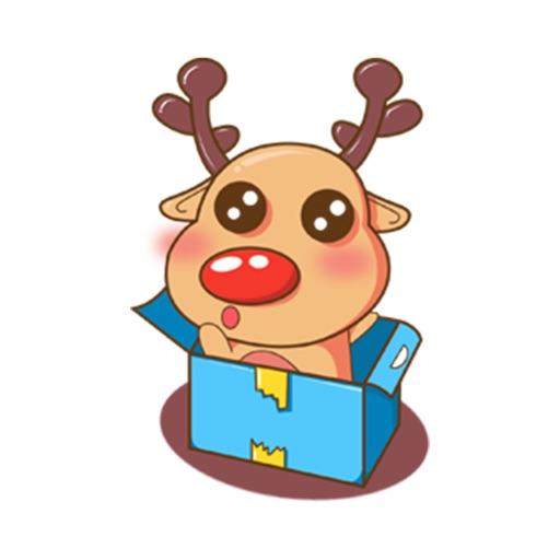 Merry Christmas Elk
