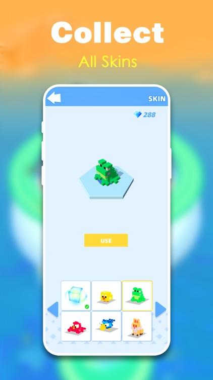 Fire Cubes 3D - Craft island screenshot-4
