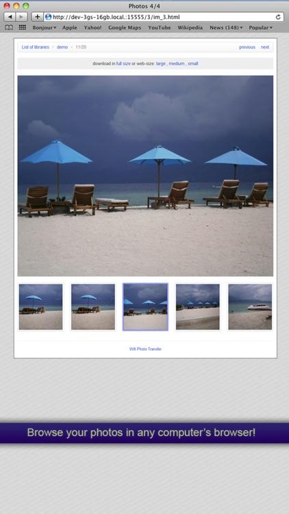 WiFi Photo Transfer screenshot-3