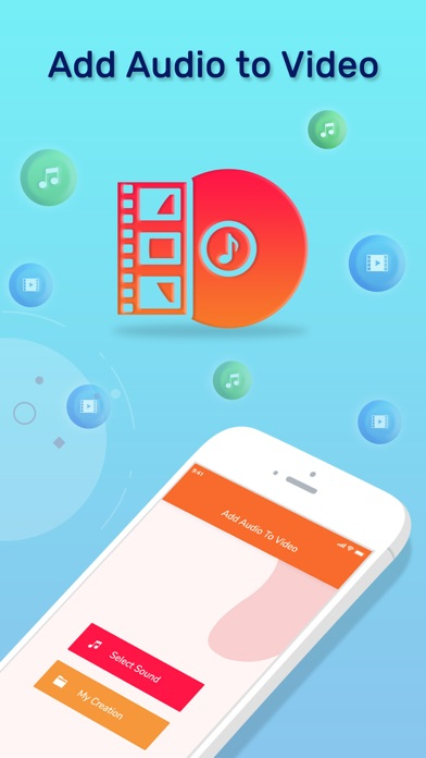 Add Audio to Video Editor screenshot 1