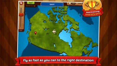 GeoFlight Canada Pro screenshot one
