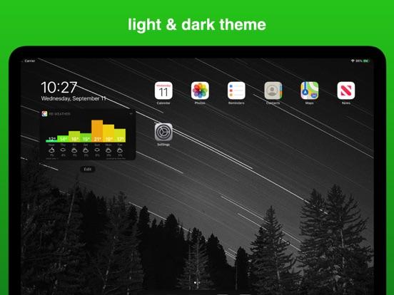 Rainbow Weather Widget Screenshots