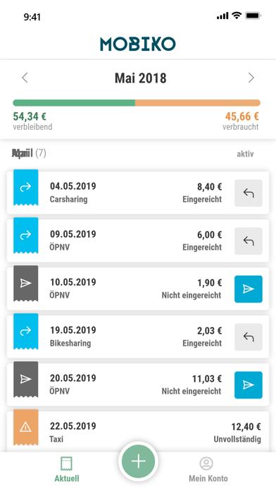 MOBIKO - Mobilitätsbudget screenshot #1