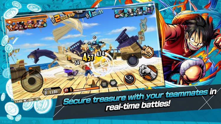 ONE PIECE Bounty Rush screenshot-3