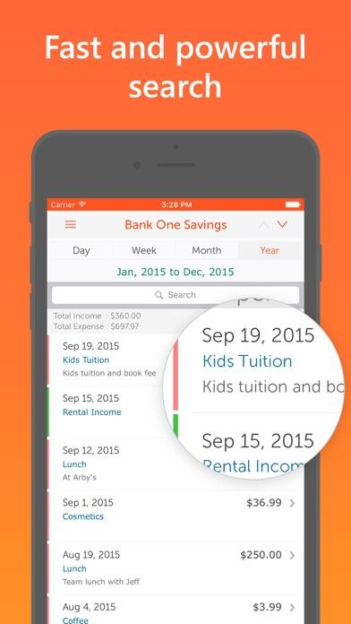 Screenshot #2 pour Easy Spending Expense Tracker